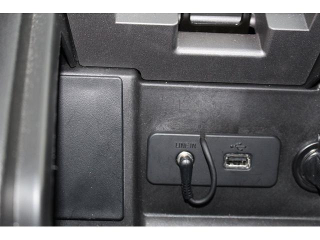 USB端子装備。携帯充電、音楽再生できます。