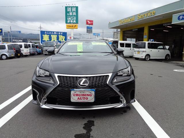 「レクサス」「RC」「クーペ」「山口県」の中古車2