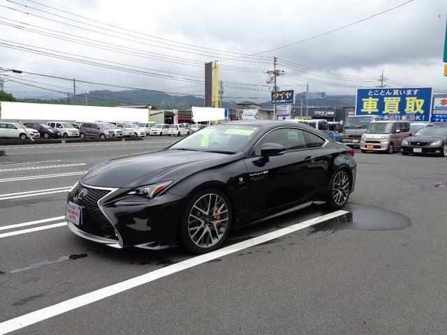 「レクサス」「RC」「クーペ」「山口県」の中古車4