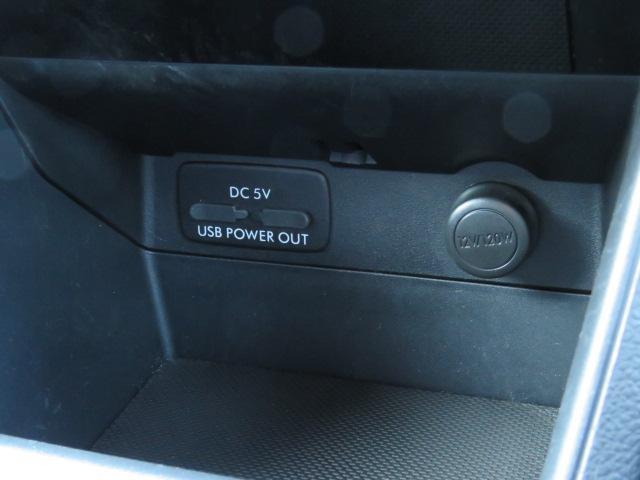 シフト前にはDC電源は勿論、便利なUSB電源もあります☆
