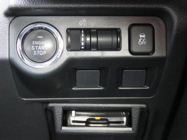 ハンドル右のエンジンスタート・ストップスイッチ、メーター輝度調整ダイヤル、横滑り防止機能OFFボタンです☆ETCもこちらです♪