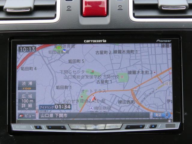 パイオニア製のHDDナビ(AVIC−ZH0099)です。安全の為に運転中の操作は控えてくださいね☆