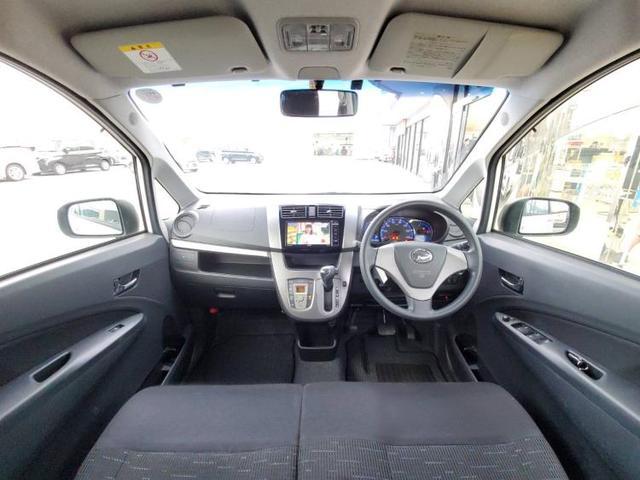 カスタムX SA 社外 7インチ メモリーナビ/ヘッドランプ LED/ETC/EBD付ABS/横滑り防止装置/アイドリングストップ/TV/エアバッグ 運転席/エアバッグ 助手席/アルミホイール/パワーウインドウ(4枚目)