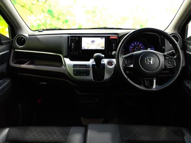 G・Aパッケージ 社外 7インチ メモリーナビ/シート ハーフレザー/ヘッドランプ HID/ETC/EBD付ABS/横滑り防止装置/アイドリングストップ/TV/エアバッグ 運転席/エアバッグ 助手席 ワンオーナー(4枚目)