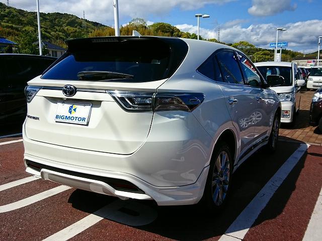 「トヨタ」「ハリアー」「SUV・クロカン」「山口県」の中古車3