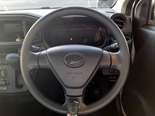 L EBD付ABS/横滑り防止装置/アイドリングストップ/エアバッグ 運転席/エアバッグ 助手席/パワーウインドウ/キーレスエントリー/パワーステアリング/マニュアルエアコン(13枚目)
