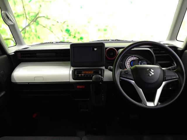 ハイブリッドG MC後モデル/スズキセーフティーサポート/EBD付ABS/横滑り防止装置/アイドリングストップ/エアバッグ 運転席/エアバッグ 助手席/エアバッグ サイド/パワーウインドウ/キーレスエントリー(4枚目)