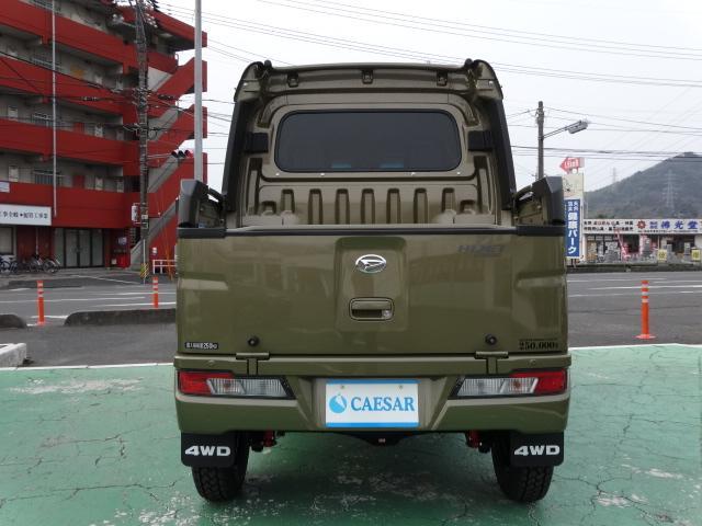 デッキバンG 4WD 公認サムライWキャブコンプリート(3枚目)