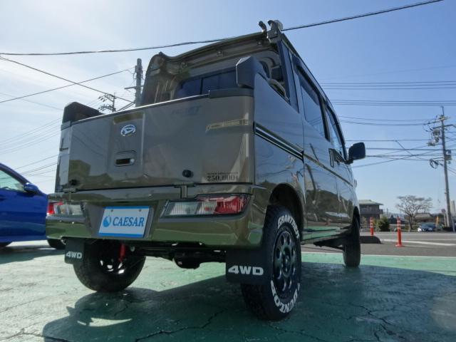 デッキバンG 4WD 公認サムライWキャブコンプリート(5枚目)