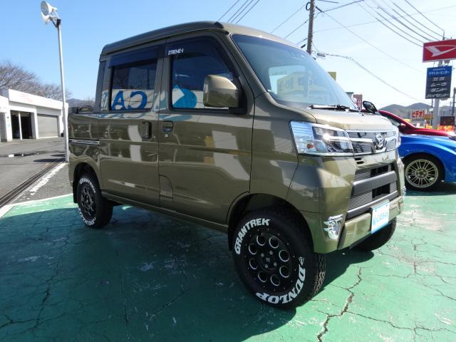 デッキバンG 4WD 公認サムライWキャブコンプリート(6枚目)