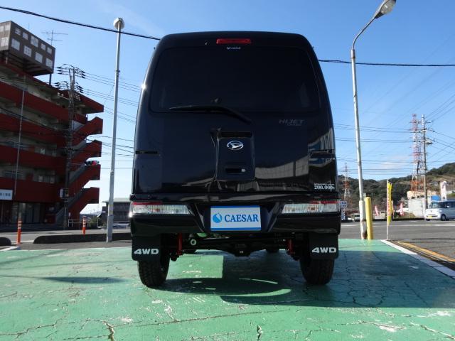 クルーズターボ 4WD サムライカーゴ公認3インチリフトUP(8枚目)