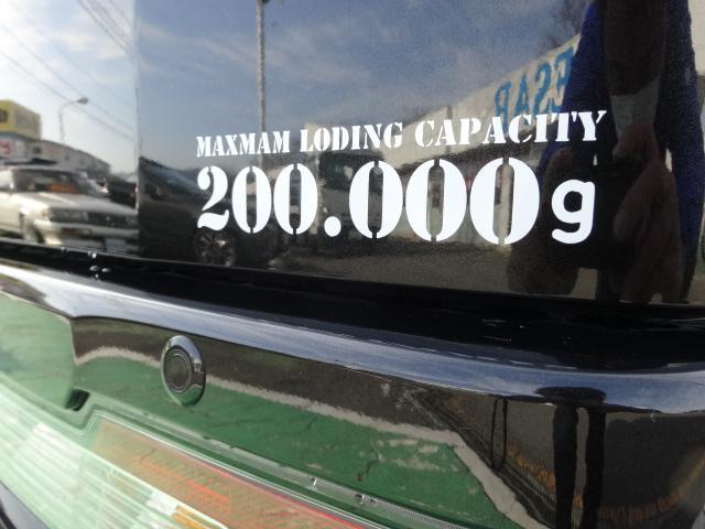 クルーズターボ 4WD サムライカーゴ公認3インチリフトUP(20枚目)