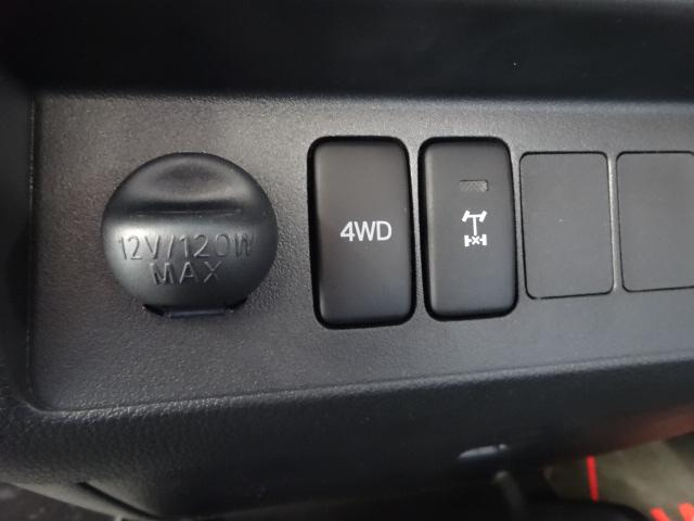 もちろんリフトアップ4WD車輌です!デフロックも付いてますよ!