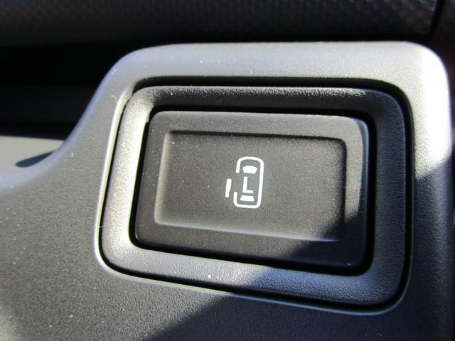 運転席からも開閉操作のできるパワースライドドア!