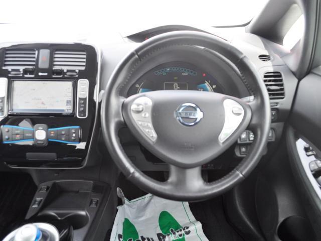☆リーフ専用メモリーナビ、充電スポット更新など電気自動車用にさまざまな機能を備えています。もちろんフルセグ地デジTVにも対応しています。