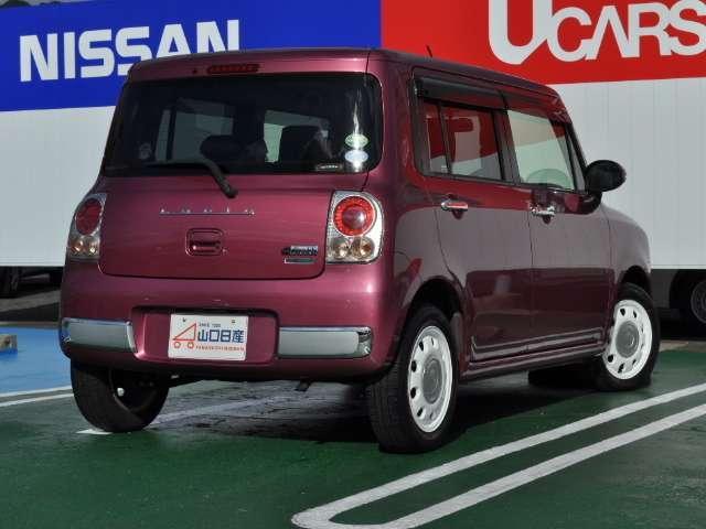 ☆こちらのお車はアルトラパン ショコラX、お色はカシスピンクパールメタリックでございます☆