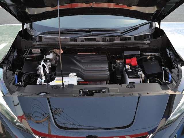 ☆これが電気自動車のエンジンルームです。エンジンがありません。
