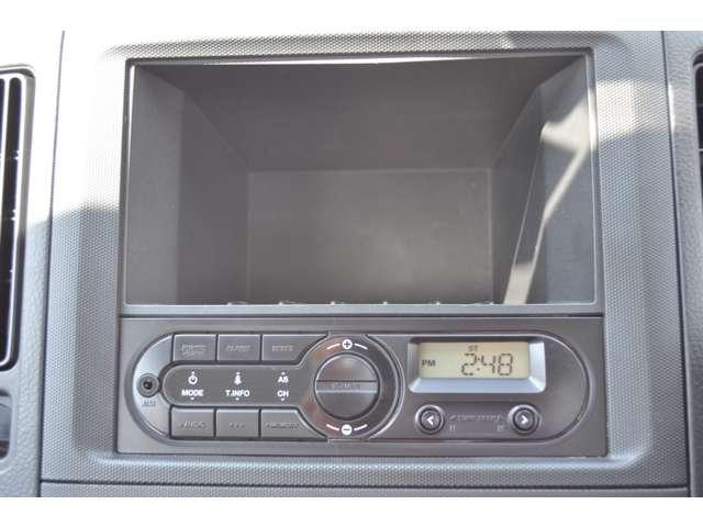 ☆純正AM/FMラジオ付いています。