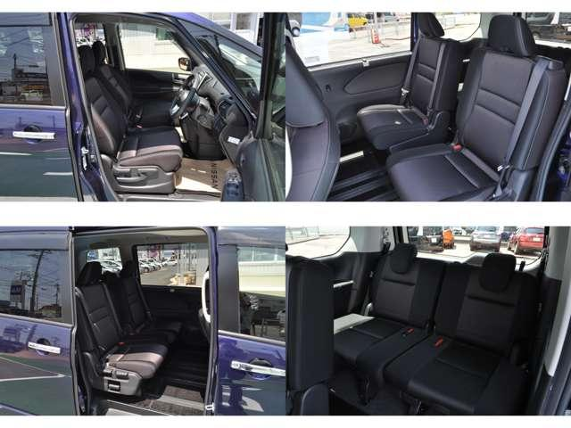 ☆運転者を疲れさせないシートになっています。ぜひご試乗をどうぞ。