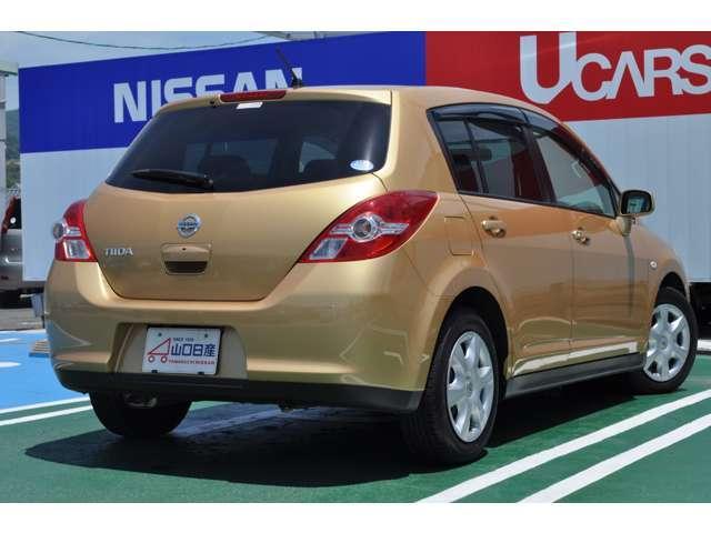 ☆こちらのお車はティーダ15M SV+プラズマ、お色はシャンパーニュゴールドでございます☆