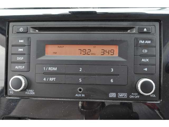 ☆純正CDオーディオです。シンプルで使いやすいボタン配置です。