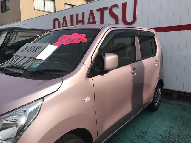 FX 軽自動車 ピンク AC オーディオ付 ベンチシート(6枚目)