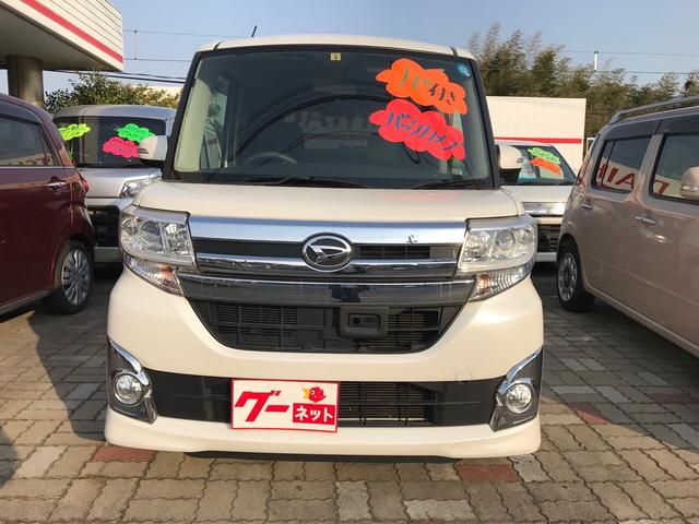 カスタム 軽自動車 ETC 衝突被害軽減システム ホワイト(3枚目)