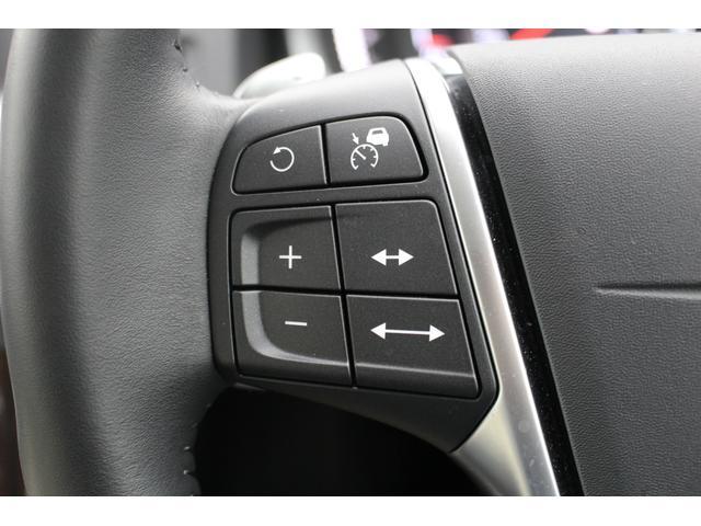 追従機能付クルーズコントロールです。先行車の速度に合わせスピードを調整してくれます。