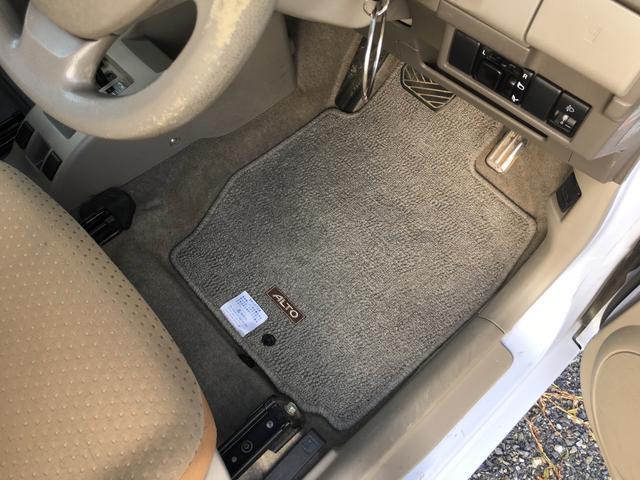スズキ アルト G 4WD 純正CD 記録簿 電動格納ミラー