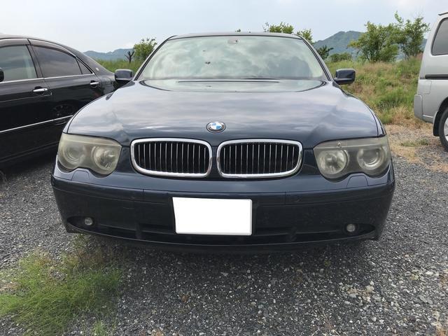BMW BMW 745i ナビ アルミ 革シート 電動リアゲート 安全装備