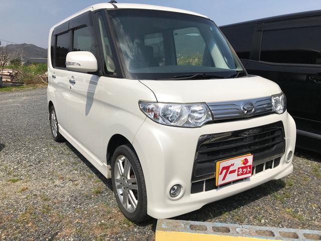 カスタムRS 軽自動車 ホワイト CVT ターボ AC(3枚目)