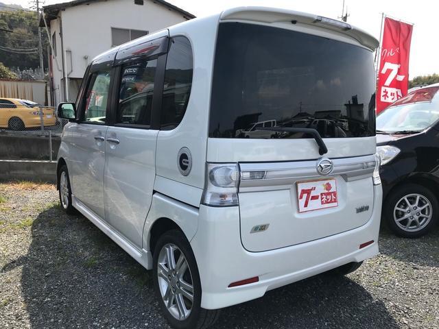 カスタムRS 軽自動車 ホワイト CVT ターボ AC(6枚目)