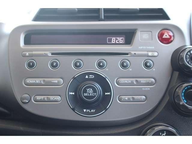 CDプレーヤーを装備していますので、お気に入りの音楽でドライブをお楽しみください。