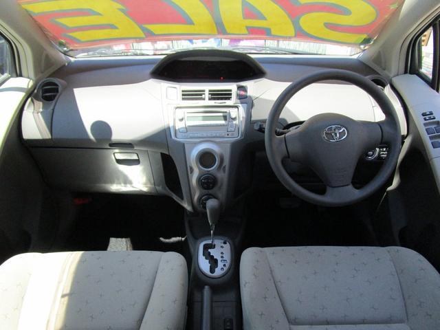 トヨタ ヴィッツ U 4WD スマートキー 社外アルミ