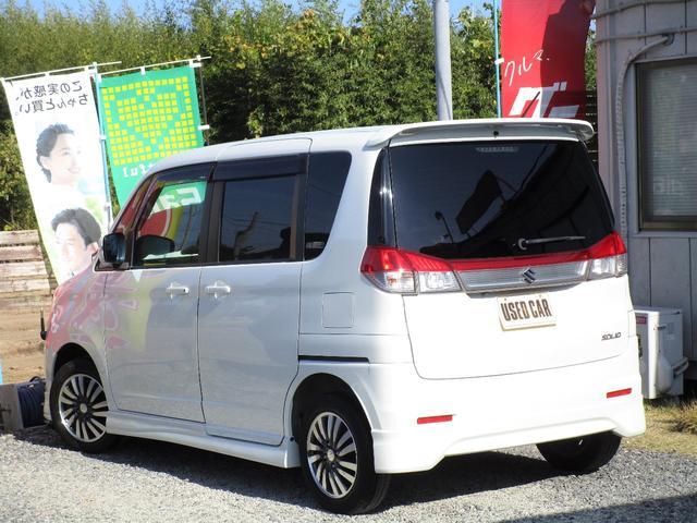 S 両側パワースライドドア HID スマートキー 純正エアロ 地デジ社外ナビ 半年保証付き(9枚目)