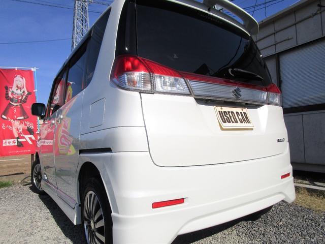 S 両側パワースライドドア HID スマートキー 純正エアロ 地デジ社外ナビ 半年保証付き(11枚目)