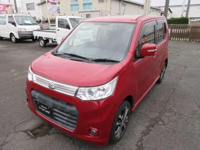 「スズキ」「ワゴンRスティングレー」「コンパクトカー」「鳥取県」の中古車7