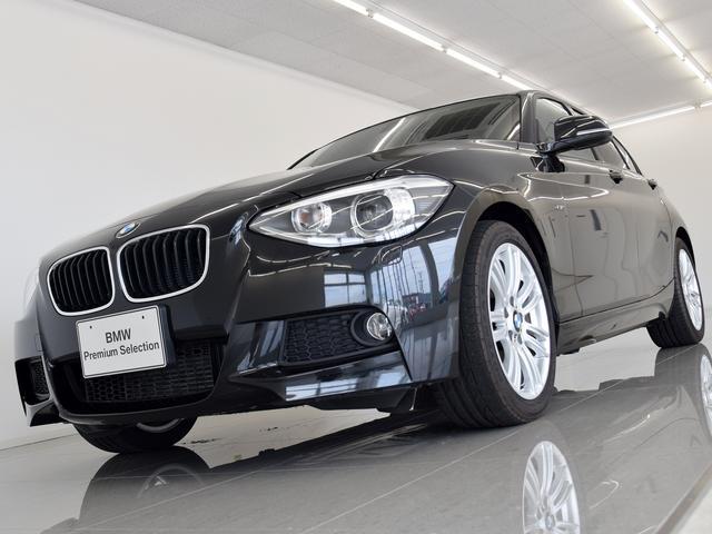 BMW BMW 120i Mスポーツ 黒革 パーキングサポートP USB端子