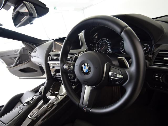 BMW BMW 640iグランクーペ MスポSR 黒革 ACC OP20AW