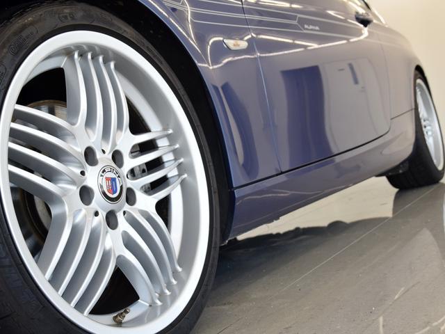BMWアルピナ アルピナ B3 ビターボ サンルーフ 黒革 純正HDDナビ 地デジ 19AW