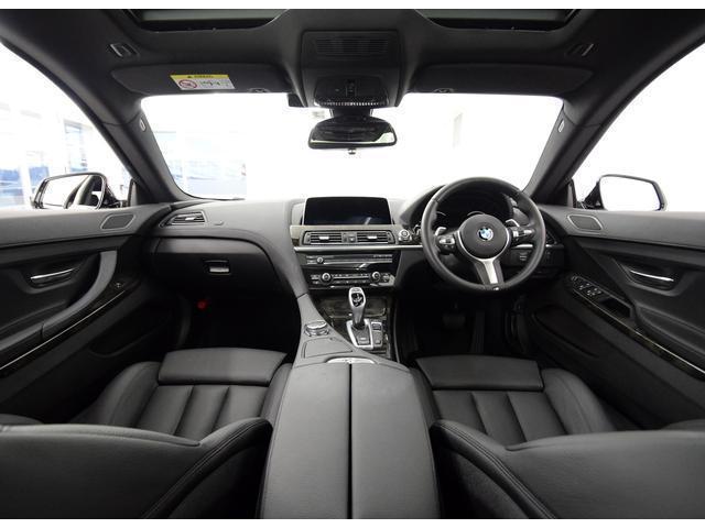 BMW BMW 640iグランクーペ MスポーツSR革シート シートヒーター