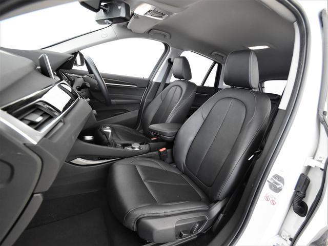 xDrive 18d xライン ハイラインパッケージ 黒革 フロント電動シート シートヒーター アドバンスドアクティブセーフティパッケージ アクティブクルーズコントロール ヘッドアップディスプレイ 純正HDDナビ リヤビューカメラ パーキングアシスト(12枚目)