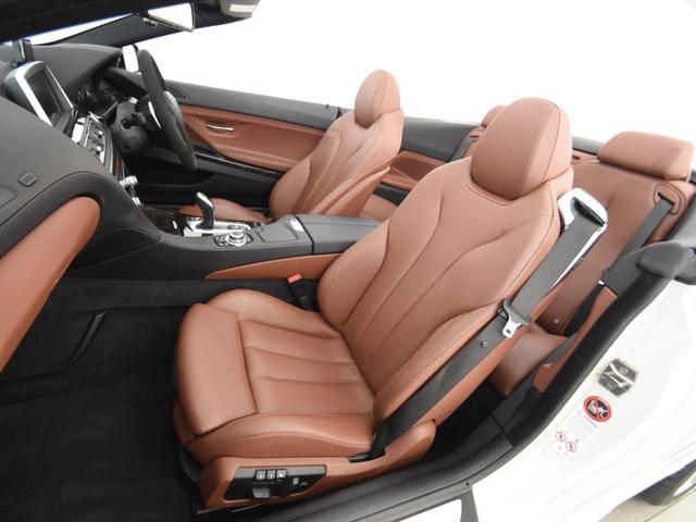 650iカブリオレ Mスポーツ ブラウンレザーシート フロントシートヒーター ヘッドアップディスプレイ Mパフォーマンスステアリング 純正HDDナビ 地デジ LEDヘッドライト 純正19AW(10枚目)