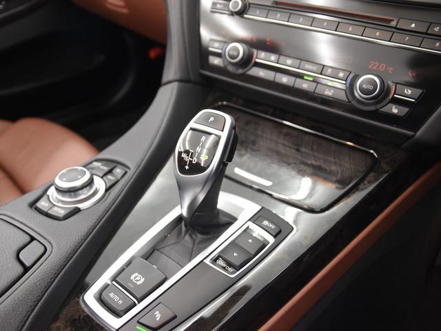650iカブリオレ Mスポーツ ブラウンレザーシート フロントシートヒーター ヘッドアップディスプレイ Mパフォーマンスステアリング 純正HDDナビ 地デジ LEDヘッドライト 純正19AW(16枚目)
