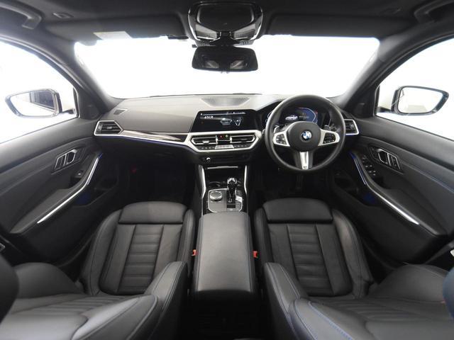 330i Mスポーツ サンルーフ 黒革 BMWレーザーライト オートトランク トップビュー リバーズアシスト シートヒーター ハイビームアシスタント 純正19インチアロイホイール(6枚目)