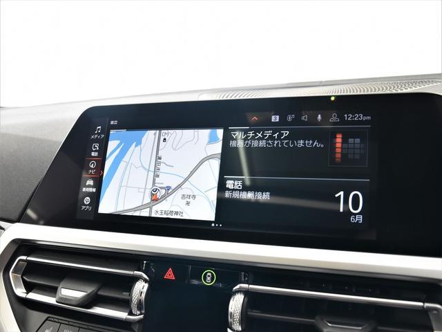 330i Mスポーツ サンルーフ 黒革 BMWレーザーライト オートトランク トップビュー リバーズアシスト シートヒーター ハイビームアシスタント 純正19インチアロイホイール(15枚目)