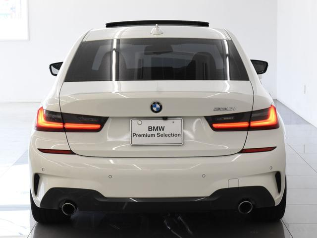 330i Mスポーツ サンルーフ 黒革 BMWレーザーライト オートトランク トップビュー リバーズアシスト シートヒーター ハイビームアシスタント 純正19インチアロイホイール(57枚目)