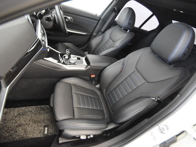 330i Mスポーツ サンルーフ 黒革 BMWレーザーライト オートトランク トップビュー リバーズアシスト シートヒーター ハイビームアシスタント 純正19インチアロイホイール(64枚目)