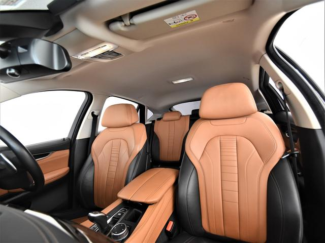xDrive 35i デザインピュアエクストラヴァガンス 黒茶コンビ革 フロントコンフォートシート アクティブクルーズコントロール レザーフィニッシュダッシュボード 純正HDDナビ フルセグ LEDヘッドライト 20インチ(41枚目)