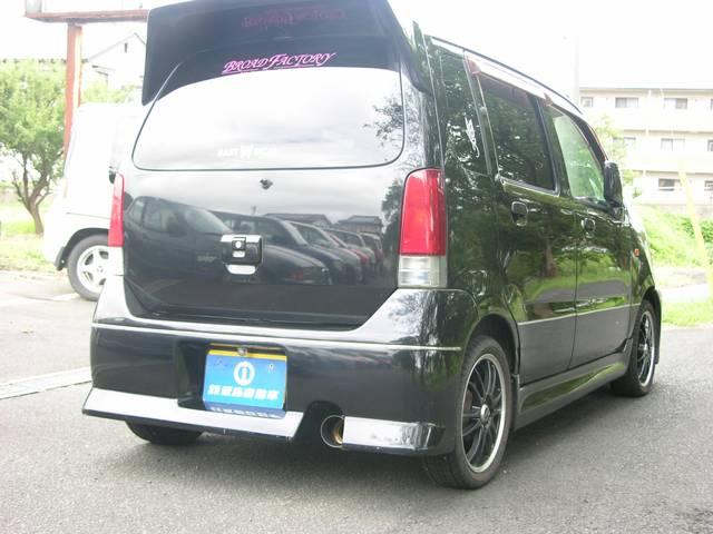 マツダ AZワゴン FM 4WD ナビ ETC 15インチアルミ 軽自動車